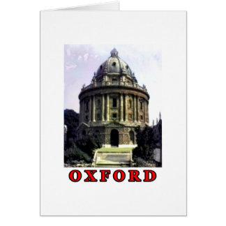 Rött Oxford kort 1986 198 den MUSEUMZazzle Gifen