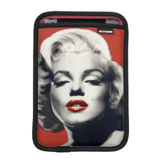 Rött på röd läppar Marilyn iPad Mini Sleeve
