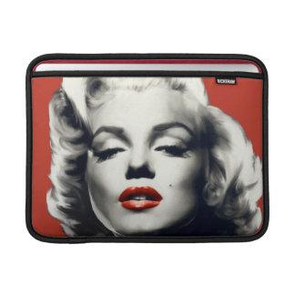 Rött på röd läppar Marilyn MacBook Air Sleeve