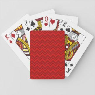 Rött på röd sparre spel kort