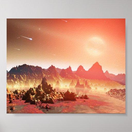 Rött planet posters