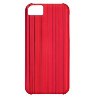 Rött regna iPhone 5C fodral