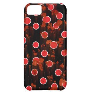 Rött rosta iphone case iPhone 5C fodral