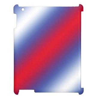 Rött, vit och blått iPad mobil skydd