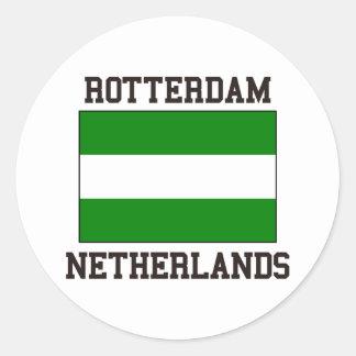 Rotterdam Nederländerna Runt Klistermärke