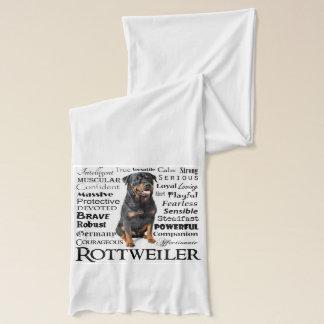 Rottie dragScarf Halsduk
