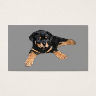 Rottweiler älskarevisitkort visitkort