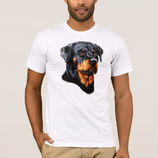 Rottweiler Enthusiats T-tröja Tröjor