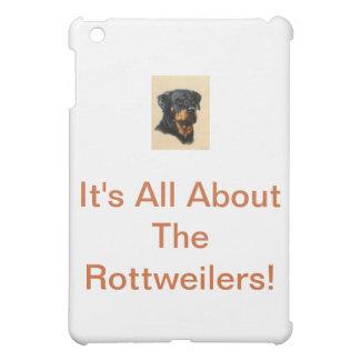 Rottweiler iPad Mini Fodral