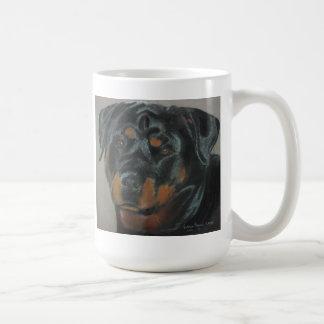 Rottweiler mugg