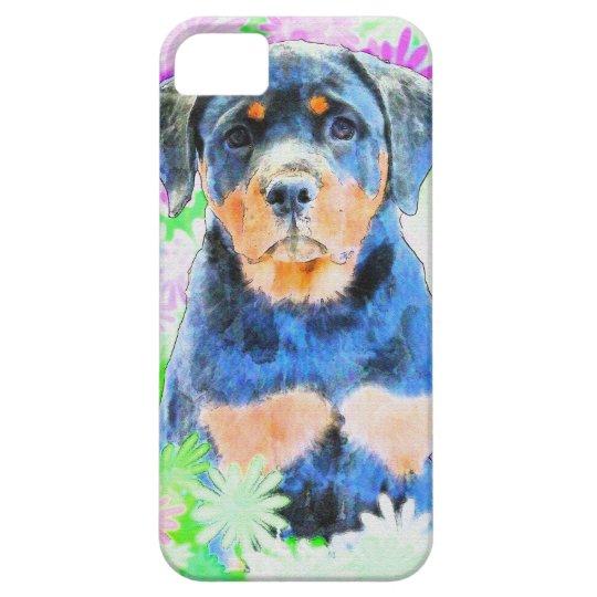 Rottweiler valp iPhone 5 Case-Mate skydd