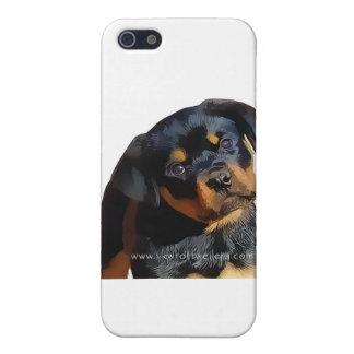 Rottweiler valp iPhone 5 skal