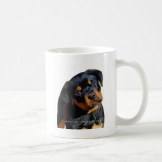 Rottweiler valp kaffemugg