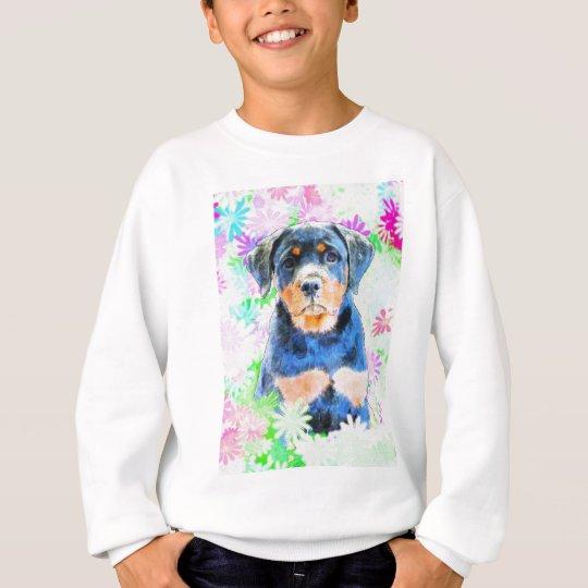 Rottweiler valp t shirt