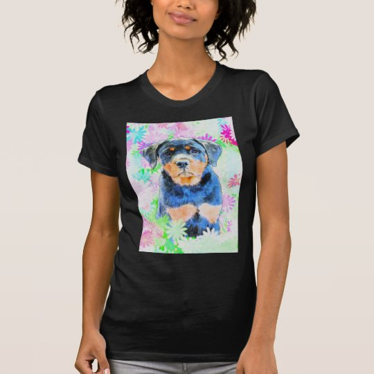 Rottweiler valp tee shirts