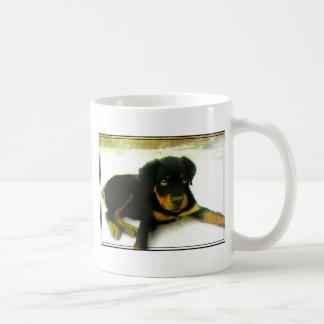 Rottweiler valpmugg kaffemugg