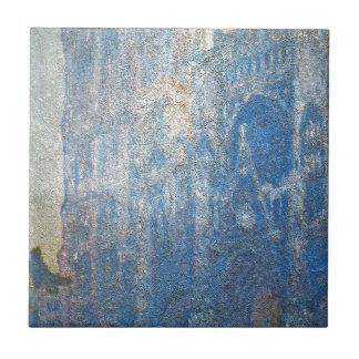 Rouen domkyrka, portalen och turnerad'Albanen, Kakelplatta