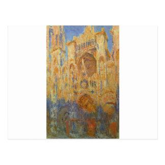 Rouen domkyrka vid Claude Monet Vykort