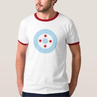 Roundel av det Chicago flygvapnet (kämpevingen) Tshirts