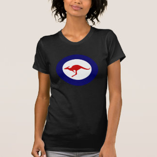 Roundel för flyg för Australien känguru militär T-shirts