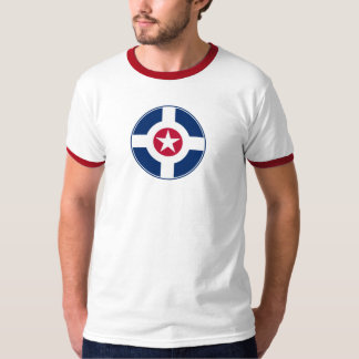 Roundel för Indianapolis luftpatrull Tee Shirt