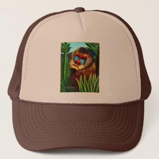 Rousseau - Mandril i djungeln (anpassning) Truckerkeps