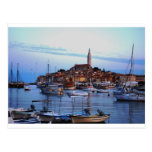 Rovinj hamn, Kroatien Vykort