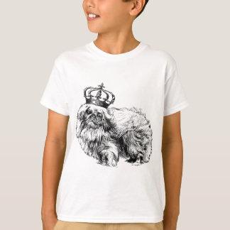 Royal för Pekingese kronahund T-shirts