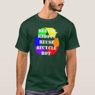 Rs för regnbåge fem skjorta t-shirts