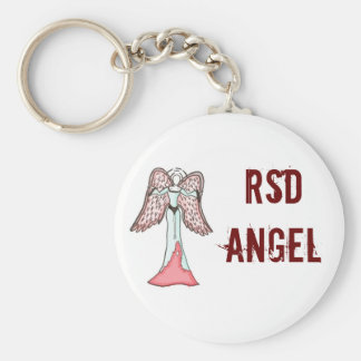 RSD-ängel Keychain Rund Nyckelring