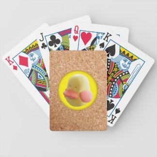 Rubber anka spelkort