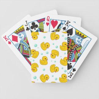 Rubber ankamönster spelkort