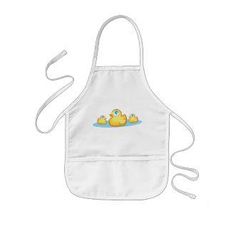 Rubber duckies för party i sjöförkläde barnförkläde