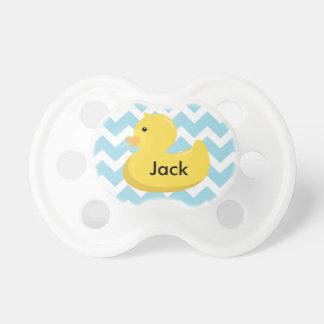 Rubber Ducky baby showergåvanappar Napp