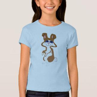 Rubber frimärke, kanin, i färg tröjor