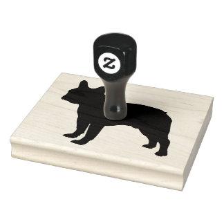 """Rubber Stamper för tjurhund, 4"""" x 5"""" Rubber Stämpel"""