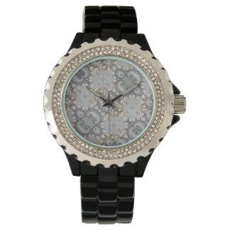 Ruby - guld - diamant - silver - utsmyckad klocka