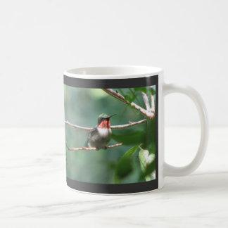 Ruby-hals fladdrandemugg kaffemugg