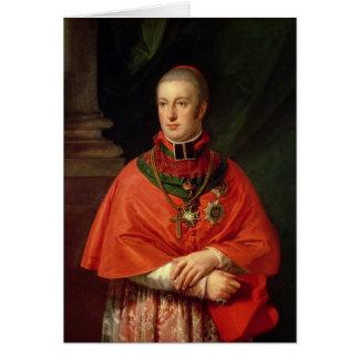 Rudolf av Habsburg Hälsningskort