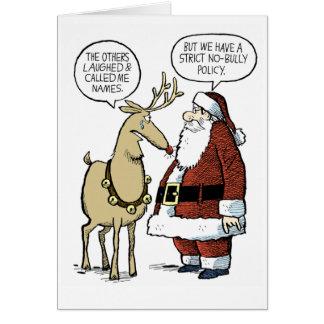 Rudolf trakasserade hälsningskort