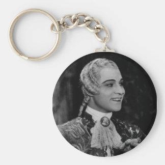 Rudolph Valentino Rund Nyckelring