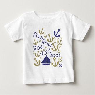 Rulla ditt fartygspädbarn tshirts