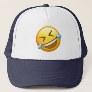 Rullande av golv - Emoji Truckerkeps
