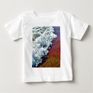 Rullande fradgaspädbarnT-tröja Tee Shirt