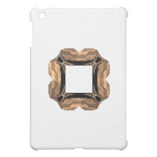 Rullande mässingsram för LookFractalkonst iPad Mini Fodral