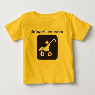 Rullande med min homiesskjorta t shirt
