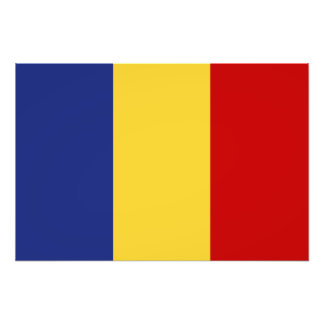 Rumänienflagga Fotokonst