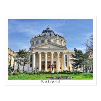 Rumänsk Atheneum Vykort