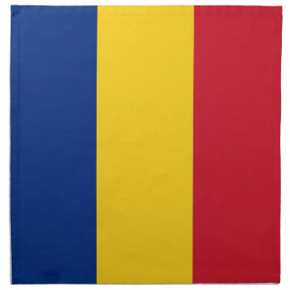 Rumänsk flagga på den MoJo servetten