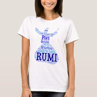 Rumi ordkonst tee shirt
